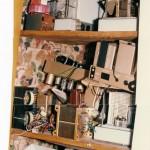 Closet filled with Radford Leak and Quads