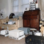 Living room Radford amplifier collection